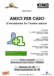 Rassegna Ottobre2011, Amici per caso